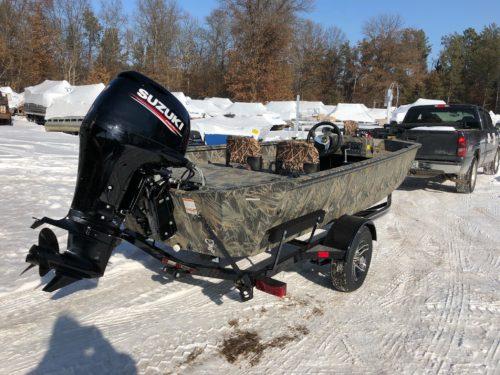 New PolarKraft Sportsman Camo boat sold