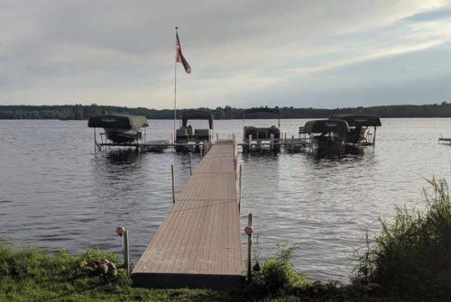 Marina style Hewitt Roll-A-Dock