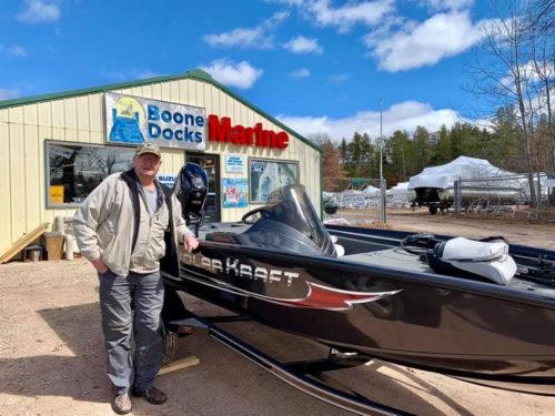 New PolarKraft Bass boat sold